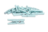 Mini Clothespins- Lt Blue (25 pieces)
