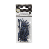 Mini Clothespins- Navy (25 pieces)