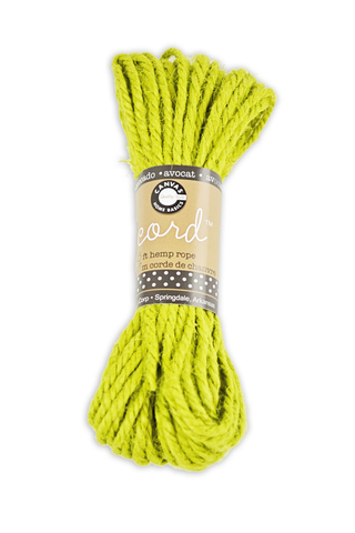 Cord - Hemp Rope - Avocado 45'