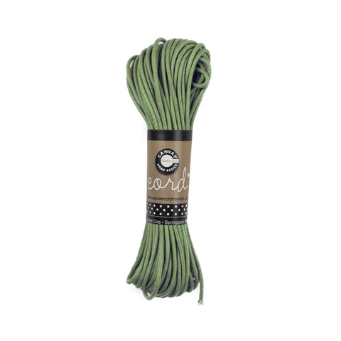 Cord - Waxed Cotton - Hunter Green 45'
