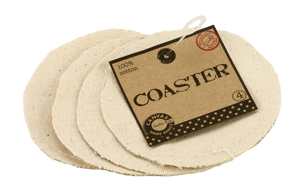 Coasters - Round Canvas