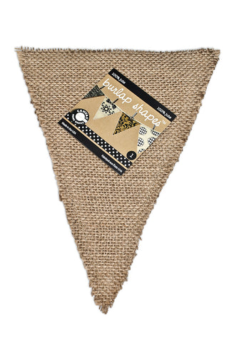 Burlap Banner Shape - Triangle