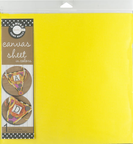 12x12 Canvas Sheet - Yellow