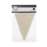 Canvas Pennants - Packaged (6 pieces)
