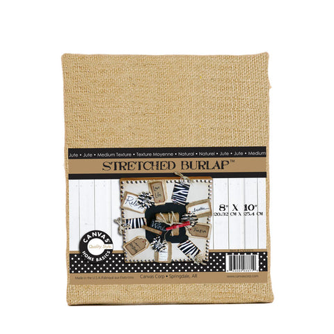 Stretched Burlap - 8 x 10 Chunky