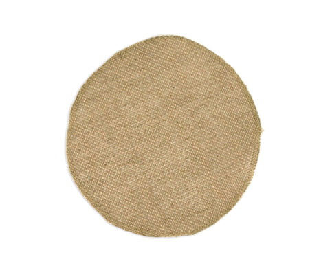 Burlap Round (small floral wrap) - 8""