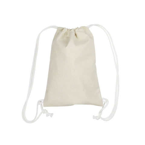 Canvas Bag - Canvas Backpack (3 sizes)