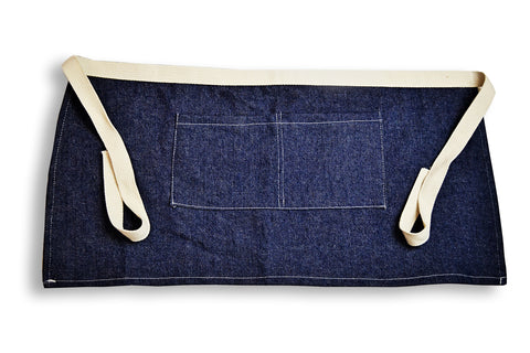 Denim Server Apron
