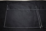 Black Canvas Server Apron