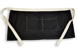 Canvas Server Apron - Canvas - Black - Denim