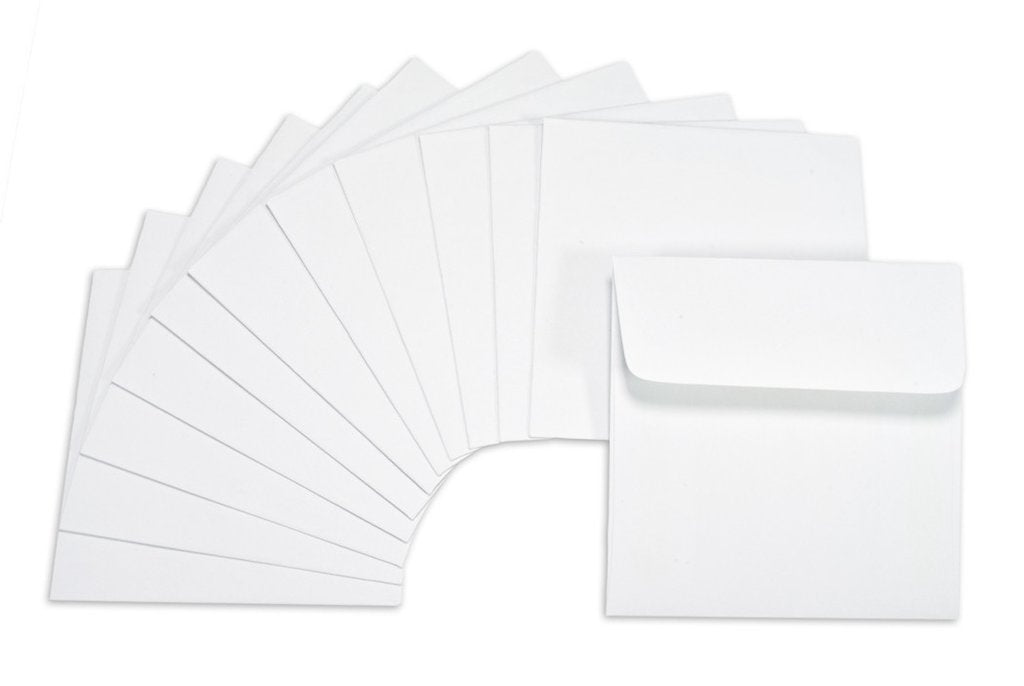3x3 Envelope - White  (25)