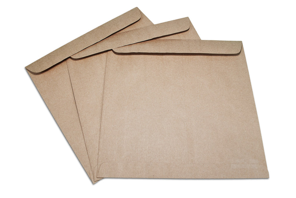 Envelope 12x12 - Kraft  (3 pack)