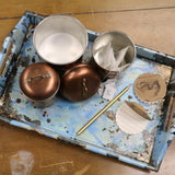 Naturally Aged Kit - Blue Rusty Metal