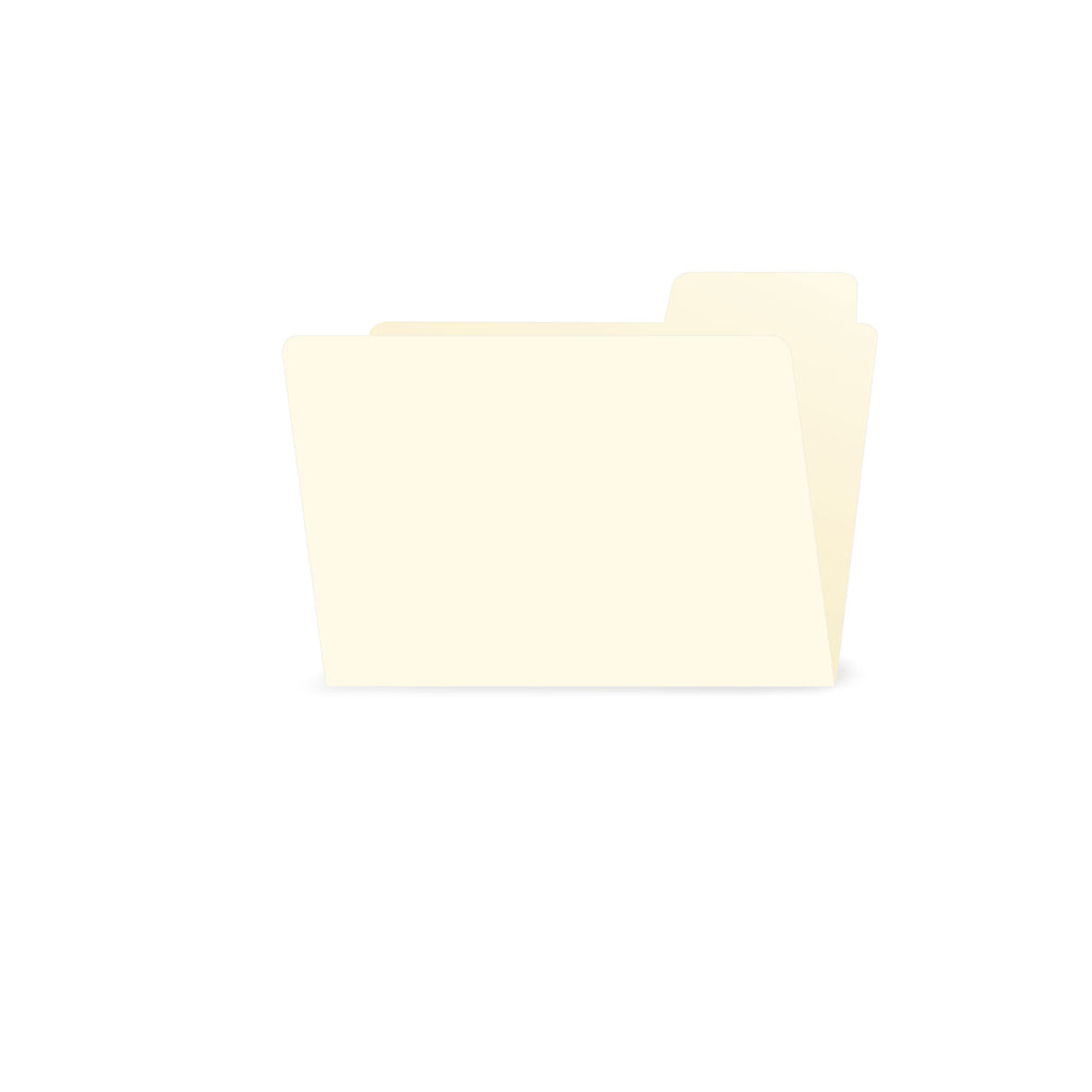 ATC Small File Folder Ivory (6 pieces)