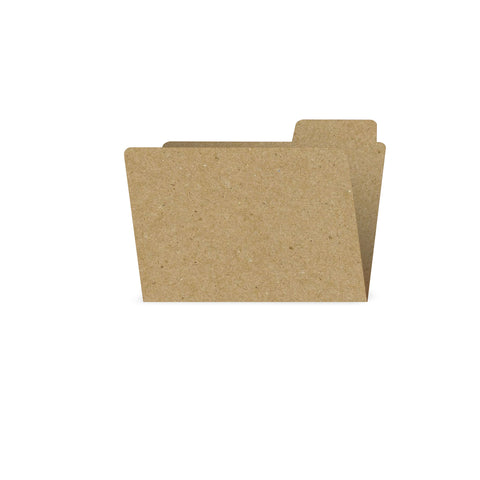 ATC Small File Folder Kraft (6 pieces)