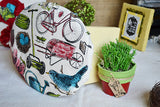 Fabric Panel - The Watering Can Garden Fabric