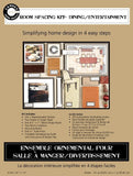 Room Spacing Kit - Dining/Entertaining