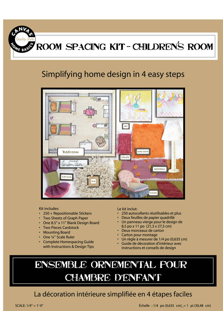 Room Planning & Decorating Kit - Children's Room