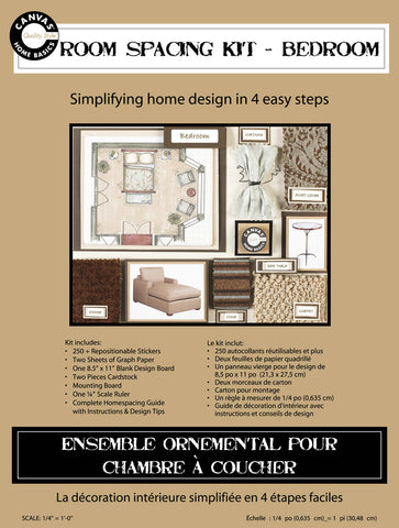 Room Planning & Decorating Kit - Bedroom