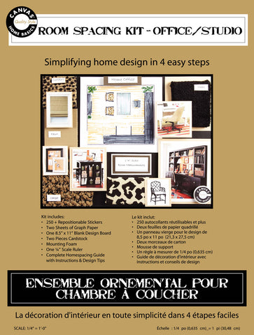 Room Planning & Decorating Kit - Roomspacing Office/Studio