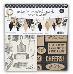 Mix & Match Pad- Vino & Ale