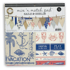 Mix and Match Pad: Sails and Shells