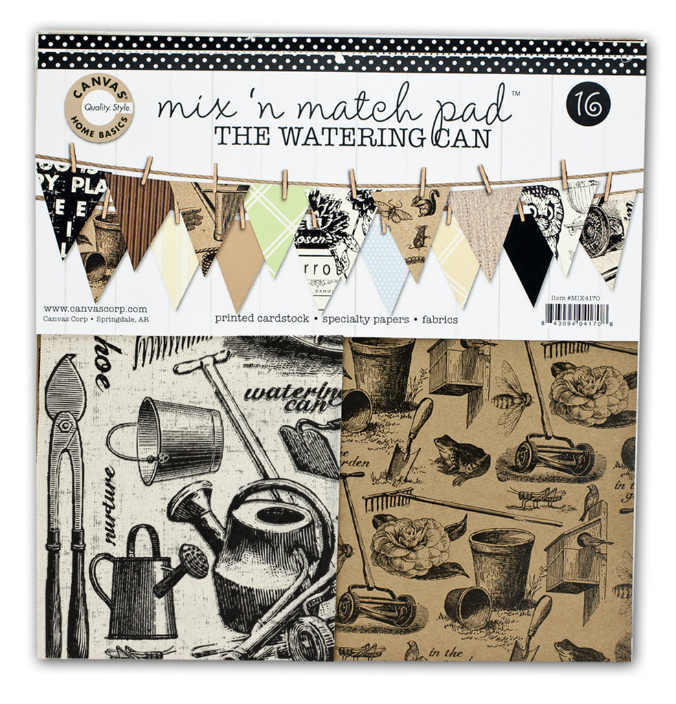 Mix and Match Pad: The Watering Can