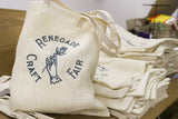 Canvas Bag - Canvas and Ivory Burlap French Market Bag