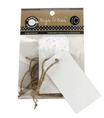 Paper Tags - White - Ex Small