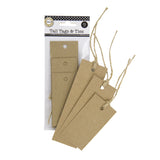 Tall Tags & Ties - Kraft (9)