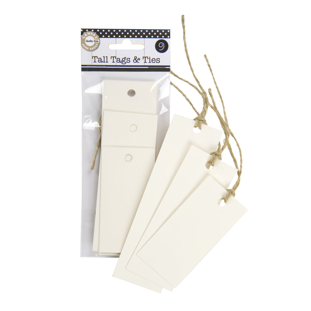 Tall Tags & Ties - Ivory (9)