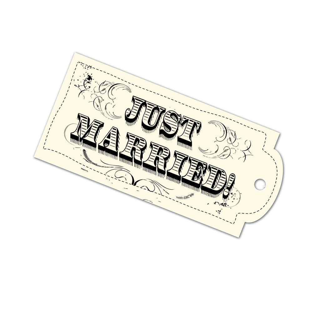 Tags - Just Married