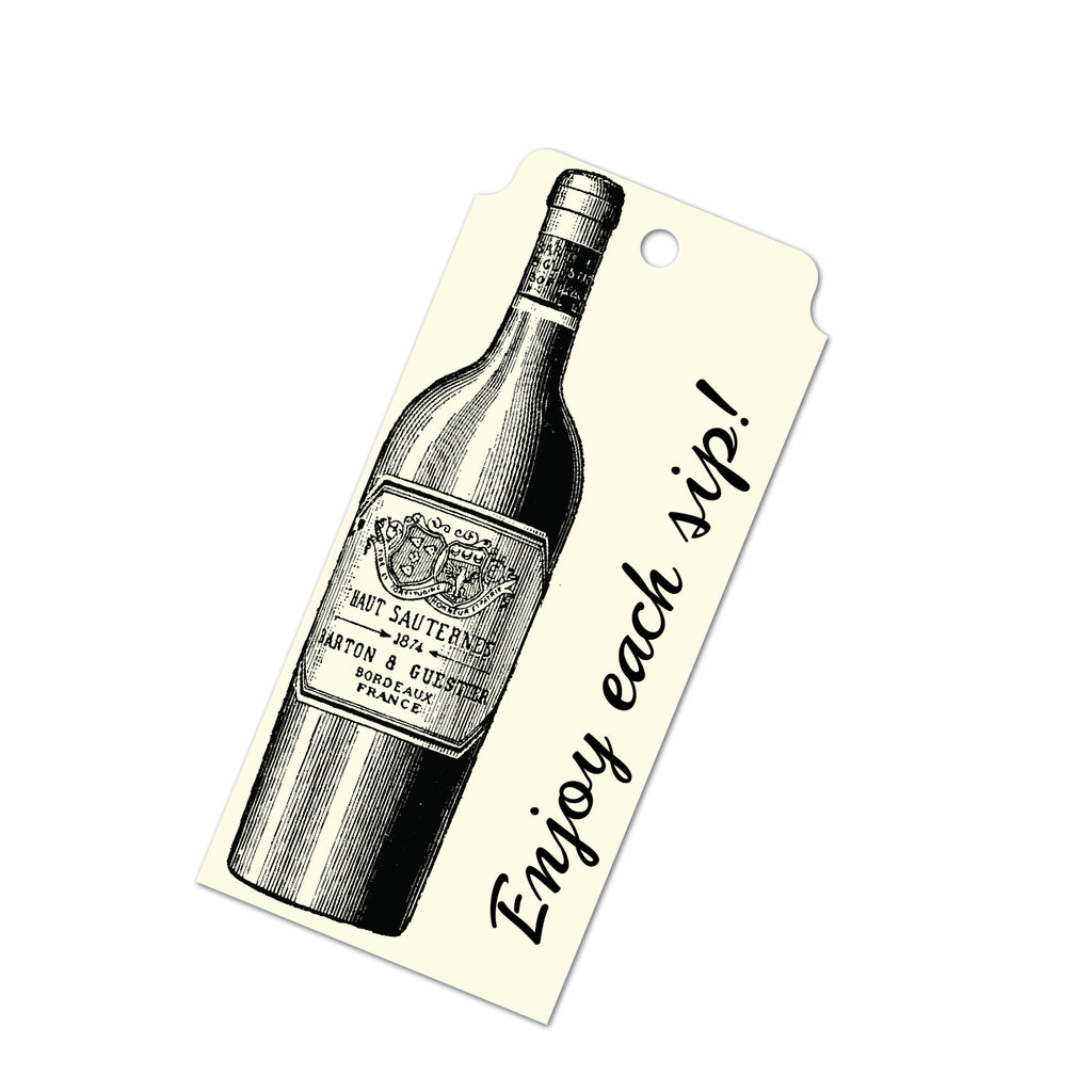 Tags - Wine Bottle
