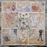 7gypsies Gypsy Moments: 12x12 A Novel Thought Paper