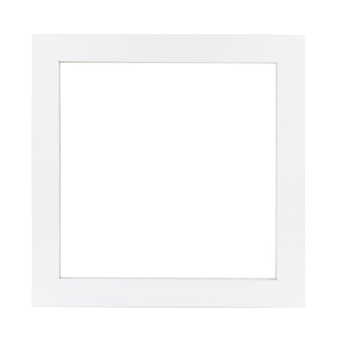 12x12 Wood Frame - White