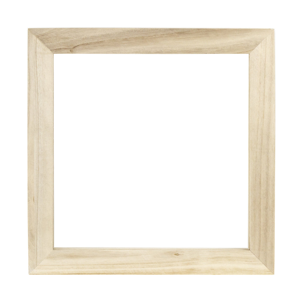 12x12 Wood Frame - Natural – Canvas Corp Brands