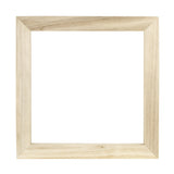 12x12 Wood Frame - Natural
