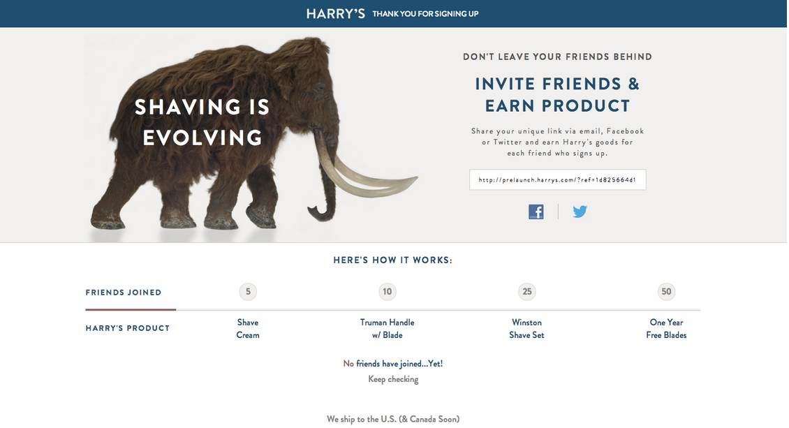 HARRYS_campagne de marketing viral