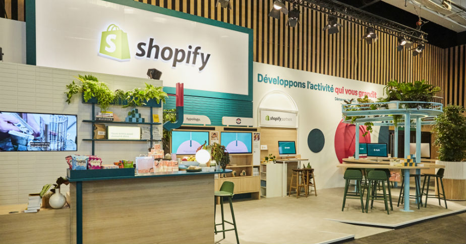 Shopify à Paris Retail Week