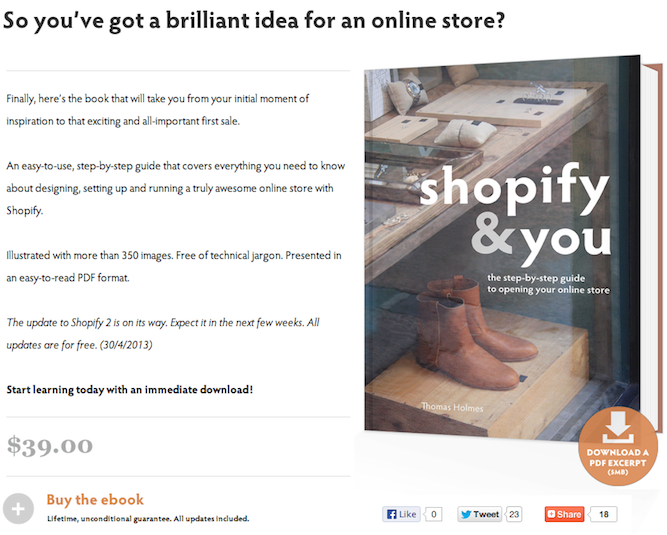 Shopify and You AddThis Bouton