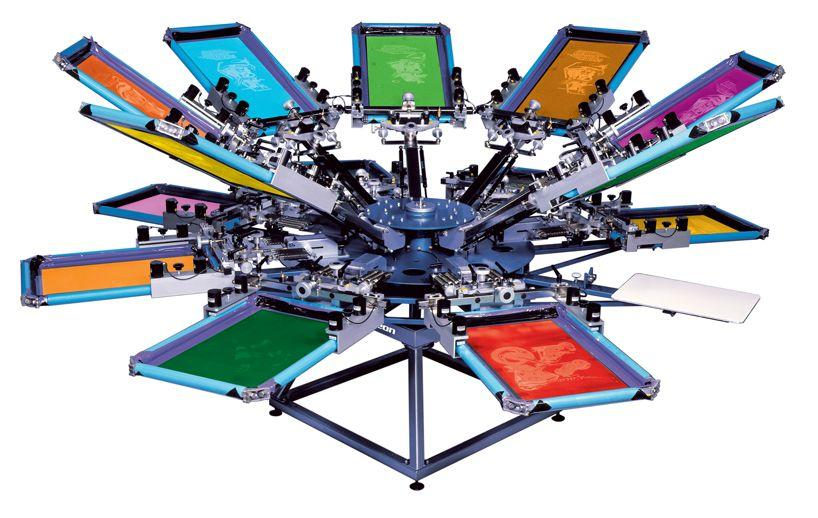 Tee Shirt Machine Serigraphie