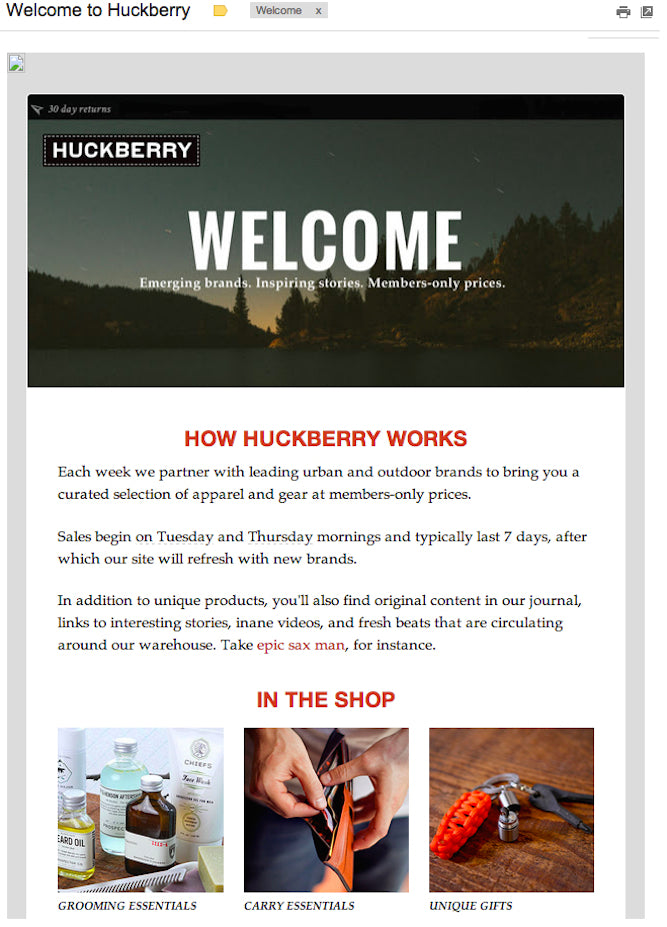 Newly Design Website Email Template