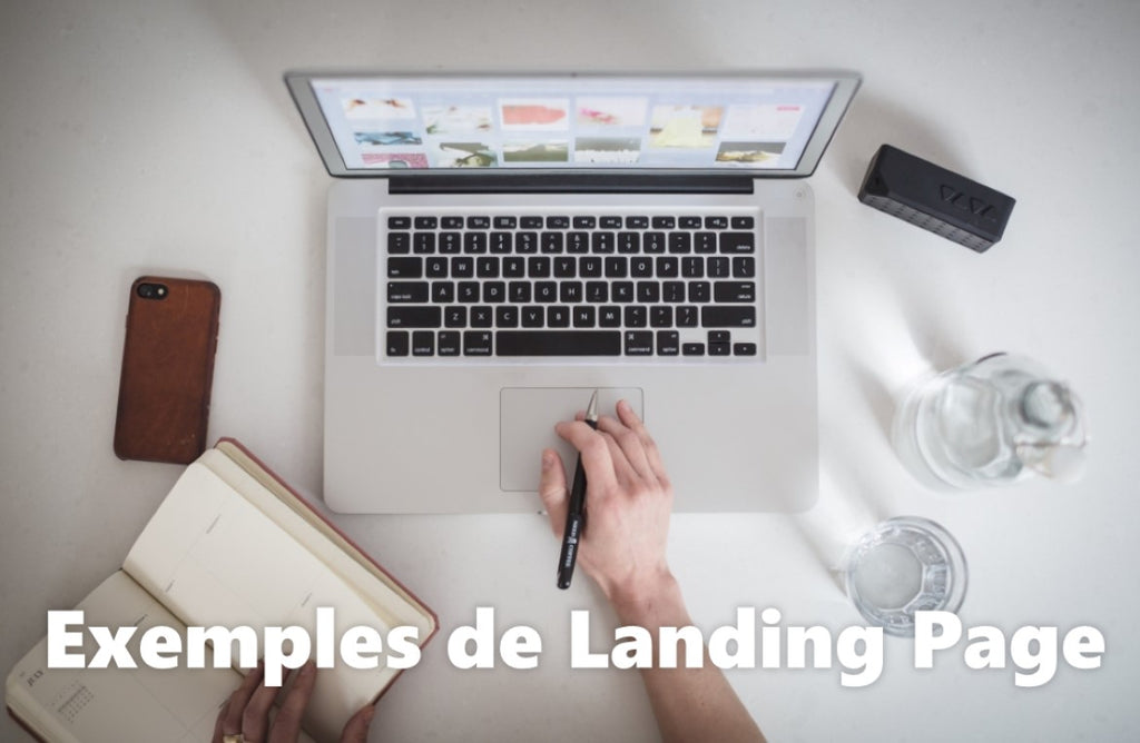 landing page definition exemples