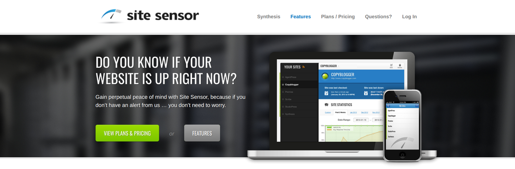 site sensor formule copywriting