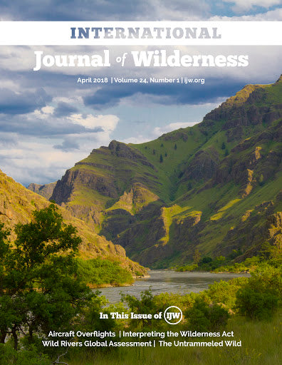 International Journal of Wilderness Subscription