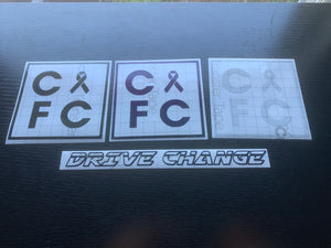 Limited Edition CFC Square Decals