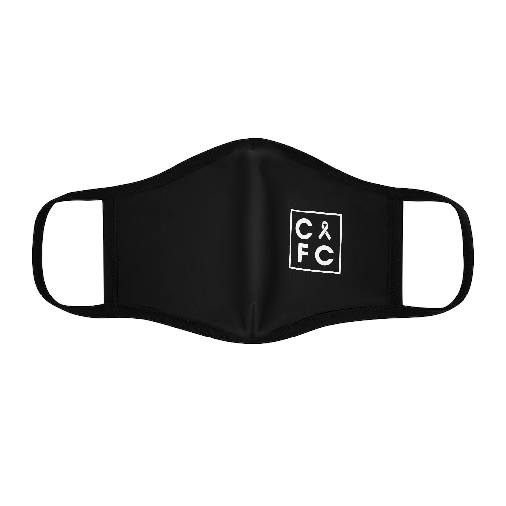 CFC Fitted Polyester Face Mask (Black)