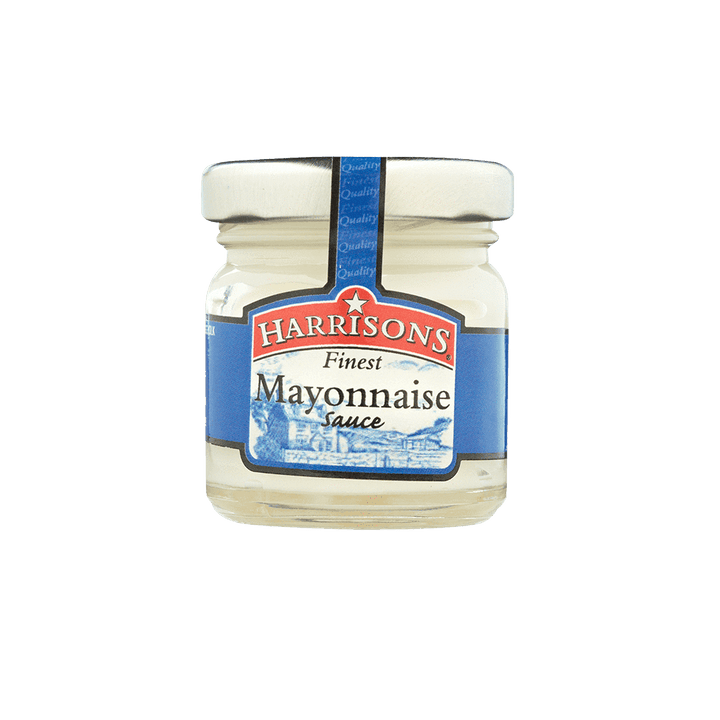 Mayonnaise Mini Jar (Case of 72) - Harrisons Sauces