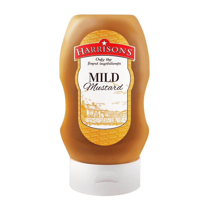 Harrisons Sauces Mild Mustard 300ml Bottle