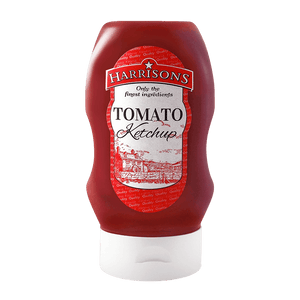 Tomato Ketchup 300ml Bottle (Case of 8) - Harrisons Sauces